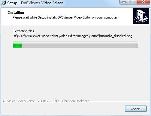 DVBViewer Video Editor