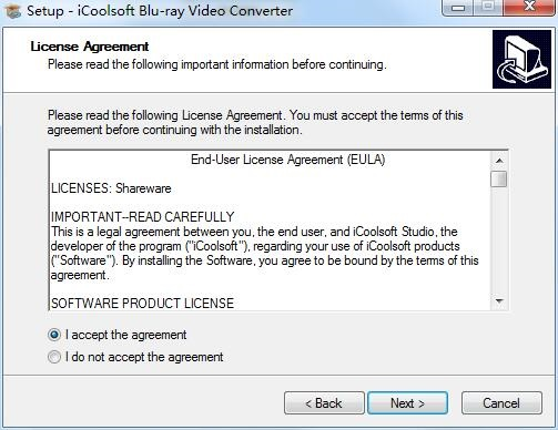 iCoolsoft Blu-ray Video Converter