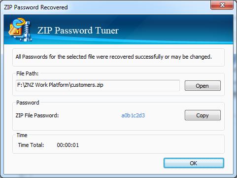 Cocosenor ZIP Password Tuner