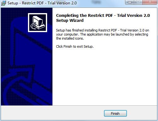 PCVARE Restrict PDF
