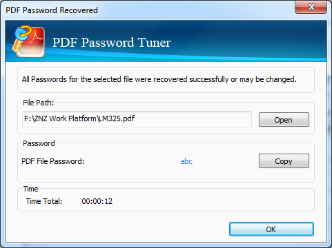 Cocosenor PDF Password Tuner