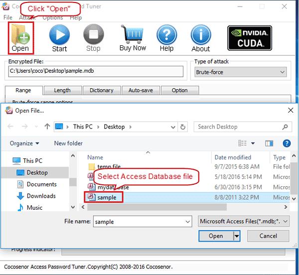 Cocosenor Access Password Tuner