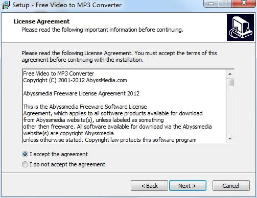 AbyssMedia Free Video to MP3 Converter