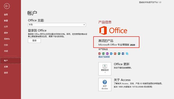 Microsoft Access 2020