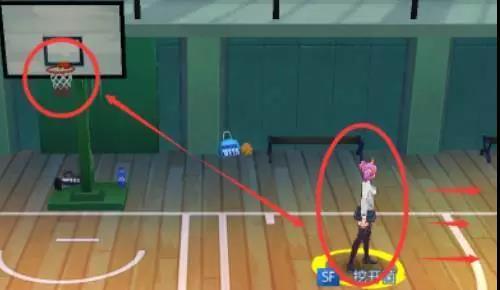 青春篮球sf空切技能分析图片3
