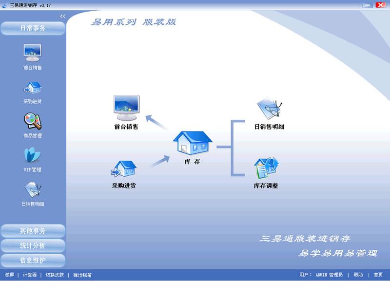 三易通服装店管理软件系统