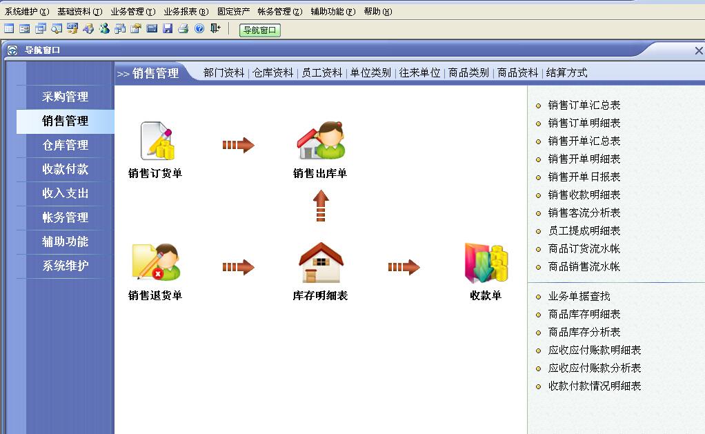 速拓家电销售系统软件