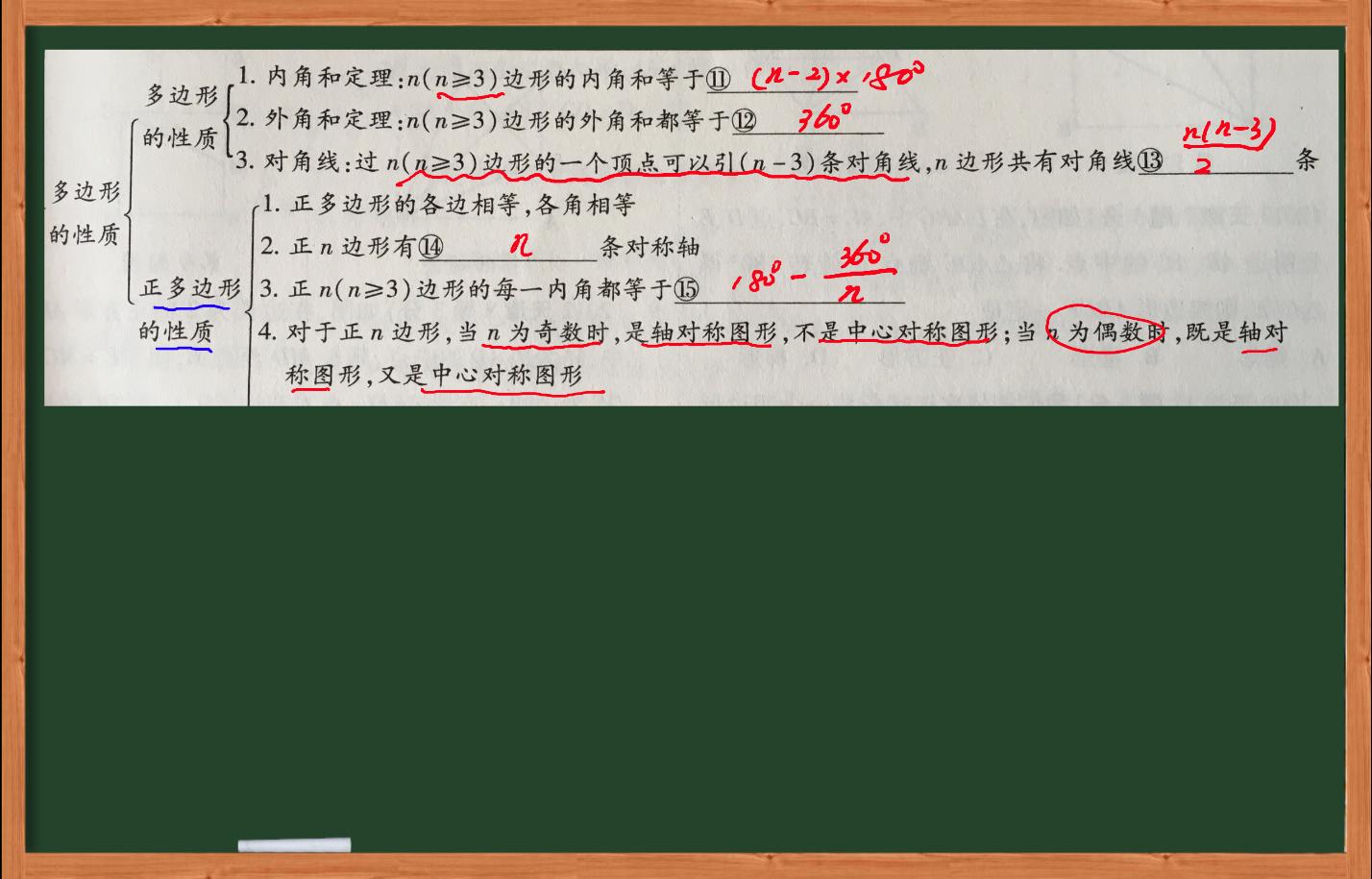 初中数学多边形与平行四边形-虎斑教育