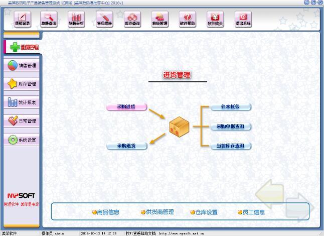 美萍数码电子产品销售管理系统
