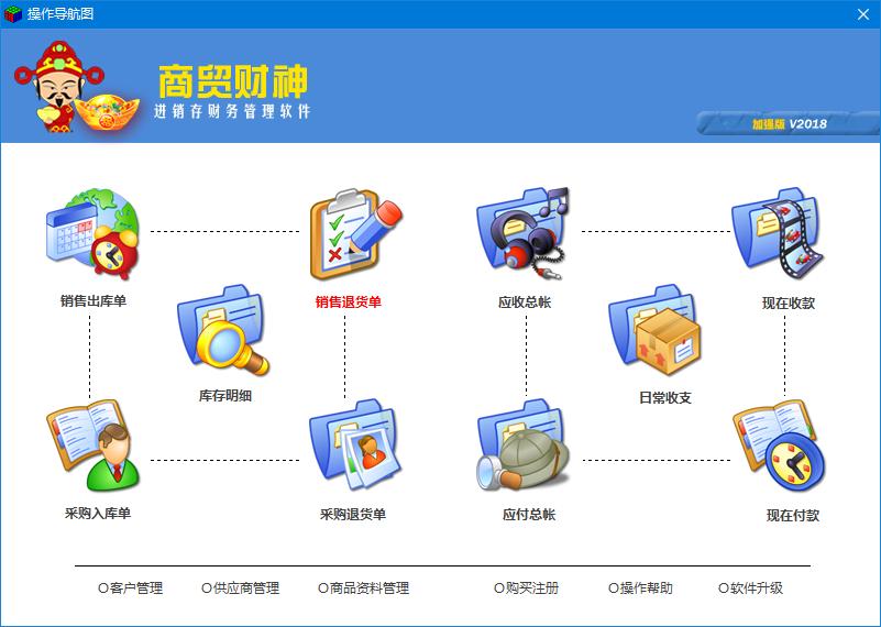 商贸财神建材进销存管理系统软件
