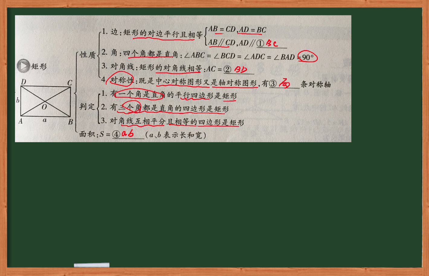 初中数学-矩形、菱形、正方形-虎斑教育