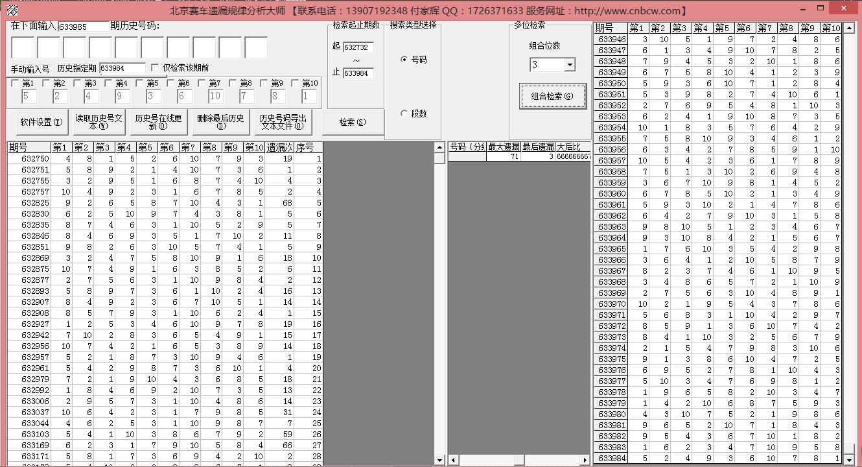 北京赛车超级遗漏极限分析大师