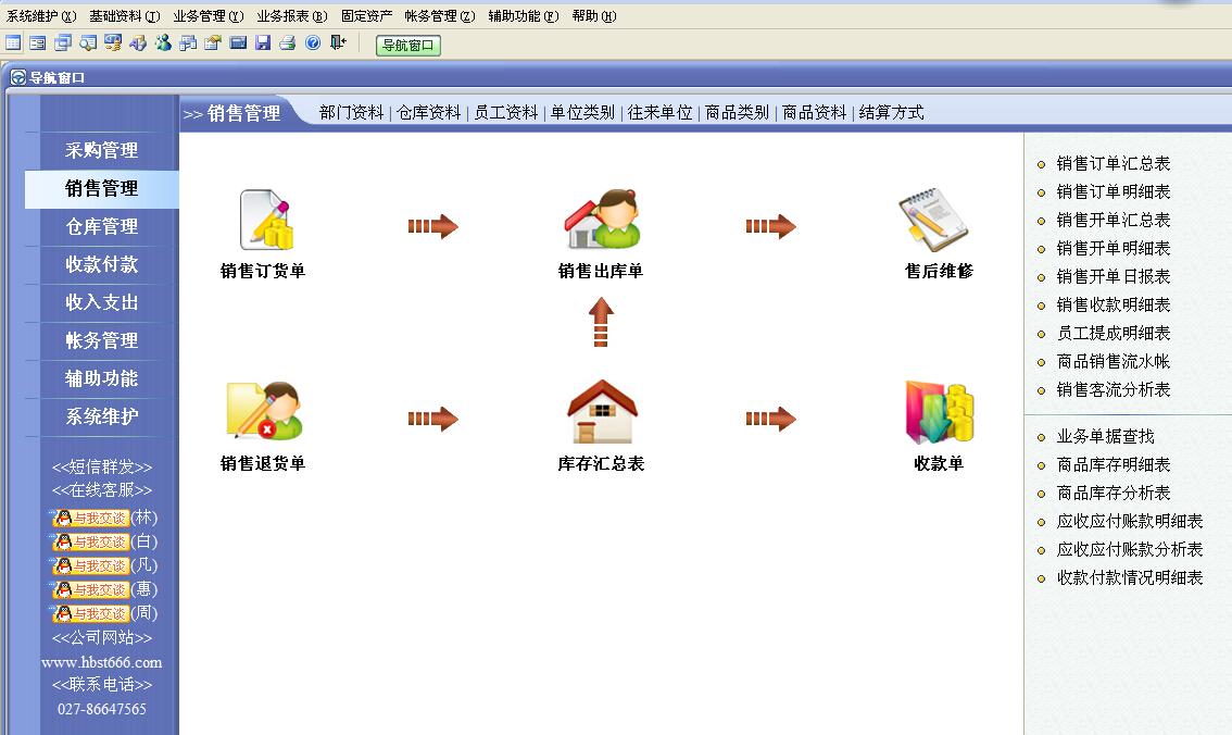速拓日化店管理系统软件