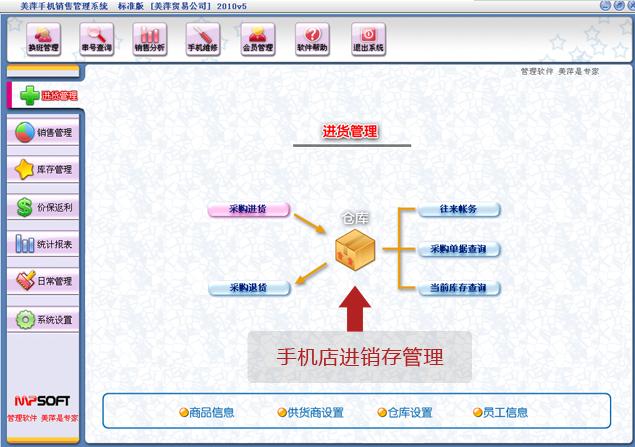 美萍手机管理系统
