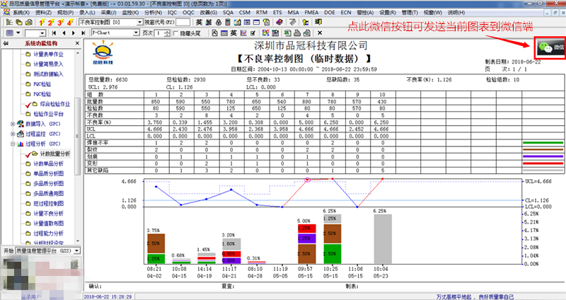品冠质量管理软件QIS
