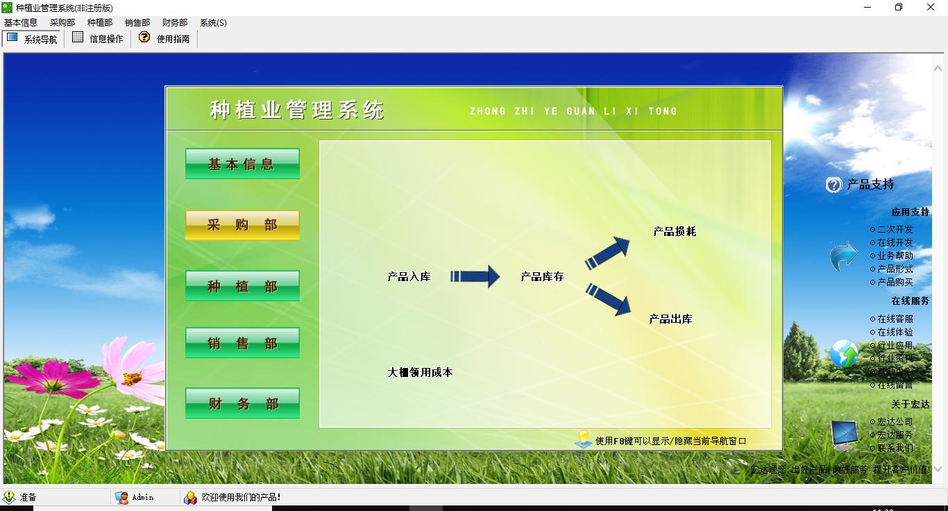 宏达种植业管理系统