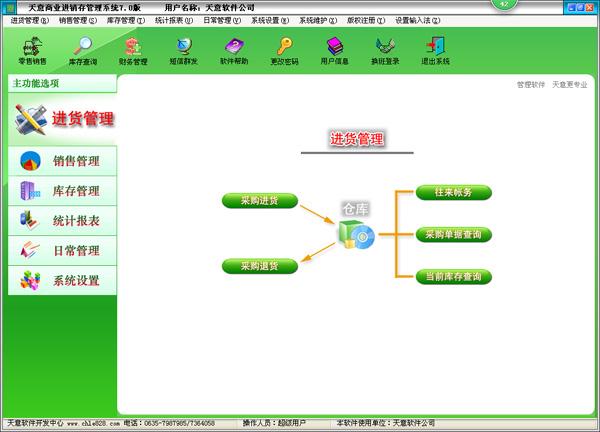 天意灯具销售管理系统