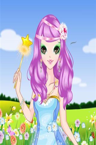童话公主化妆图片