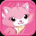 粉色小猫..