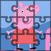 小猪佩奇拼图
