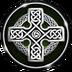 3D Celtic Cross Wallpape...