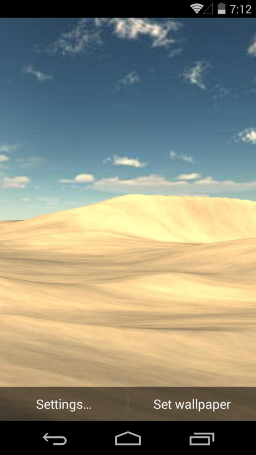 3D沙漠-梦象动态壁纸