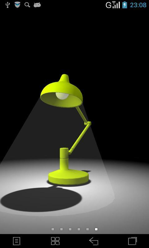 3D台灯精灵-梦象动态壁纸