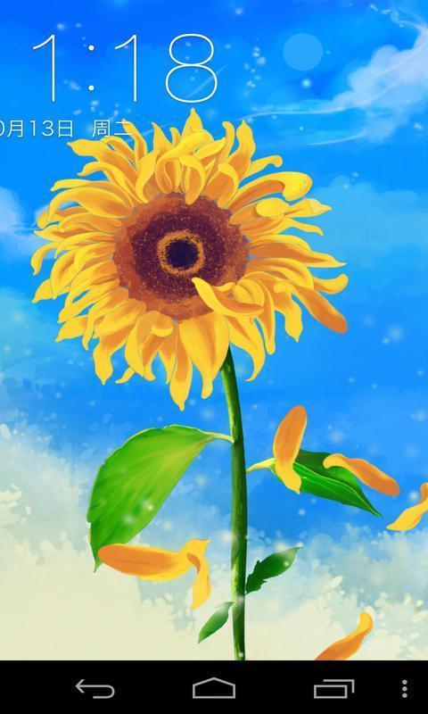 向日葵的眼泪-梦象动态壁纸