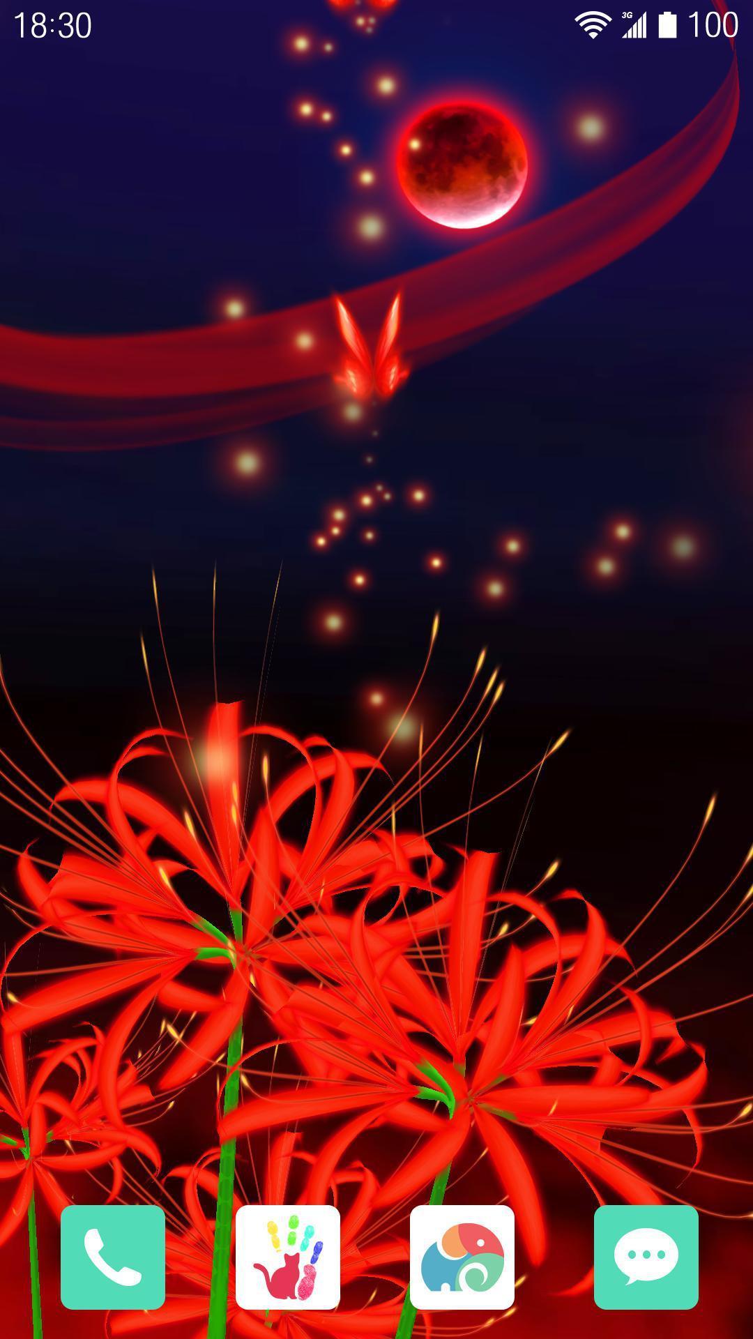 3D红蝶-梦象动态壁纸