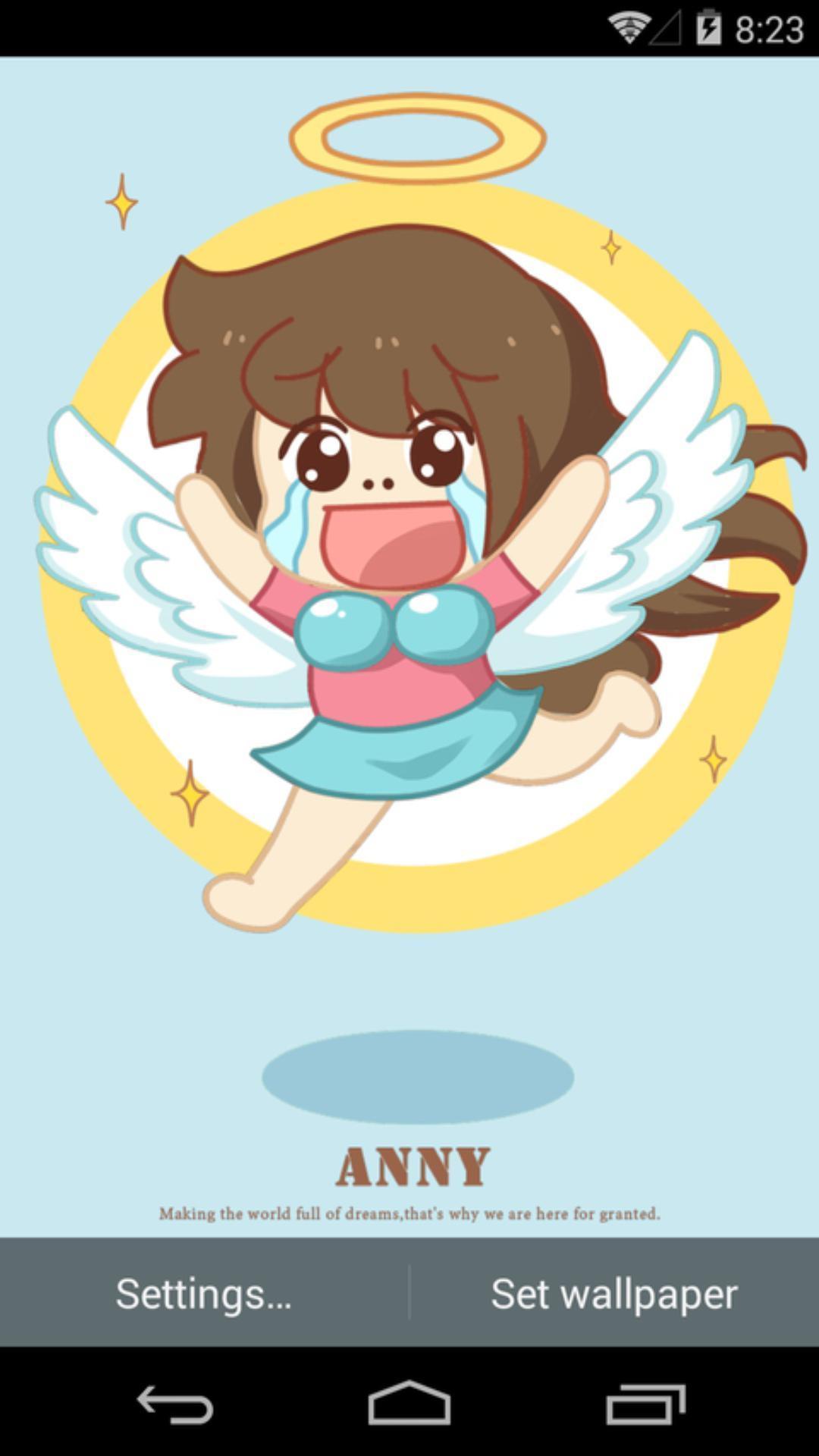 伟大的安妮-天使-梦象动态