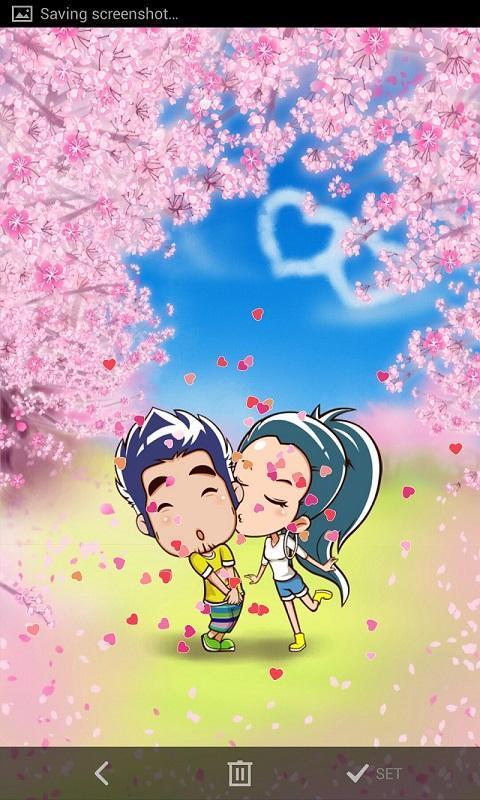 浪漫的吻-梦象动态壁纸
