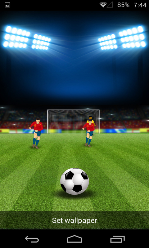 指尖足球-梦象动态壁纸