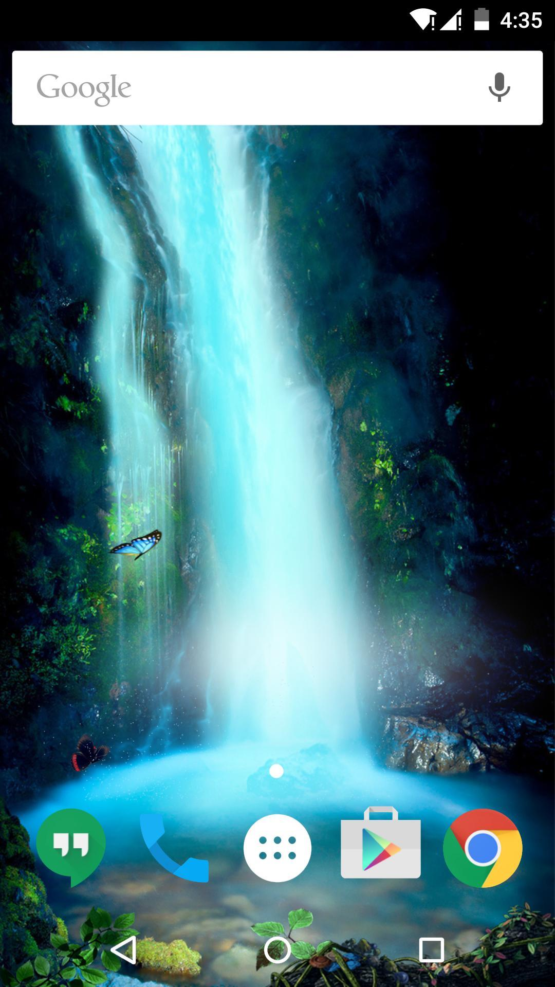 唯美瀑布-梦象动态壁纸