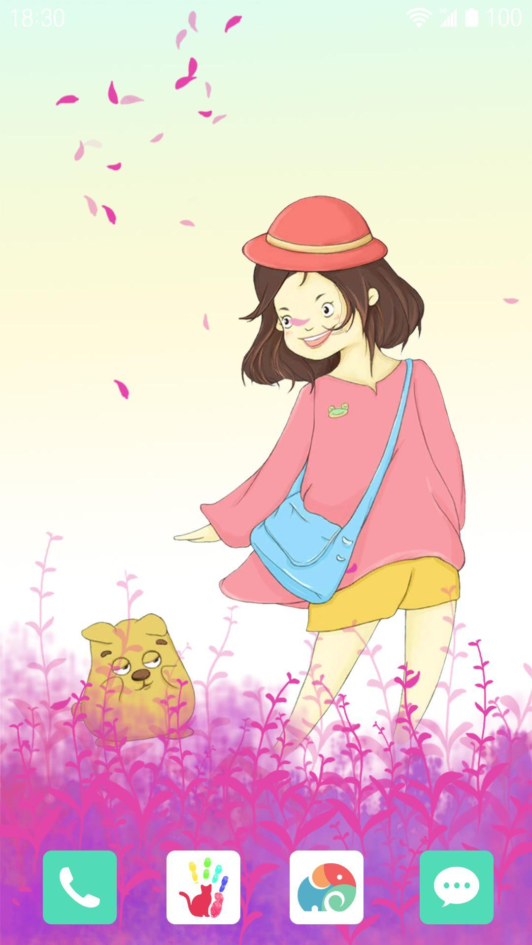 紫色童年-梦象动态壁纸
