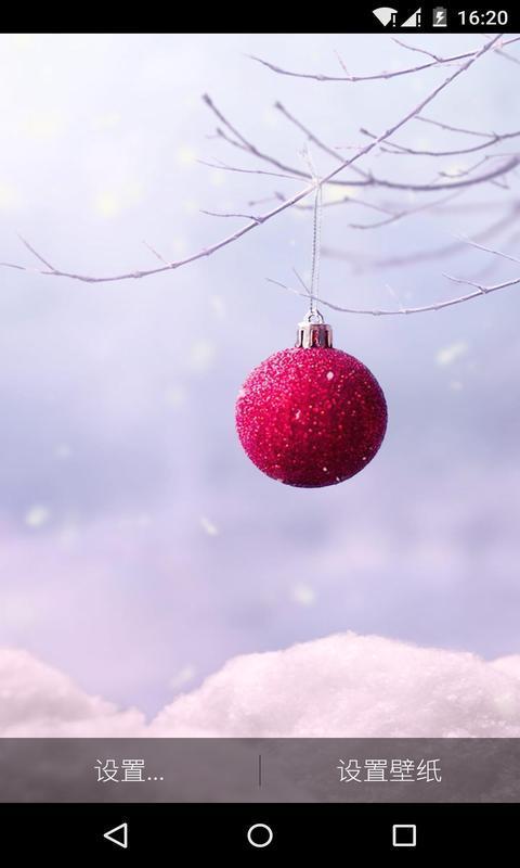 冬雪-梦象动态壁纸