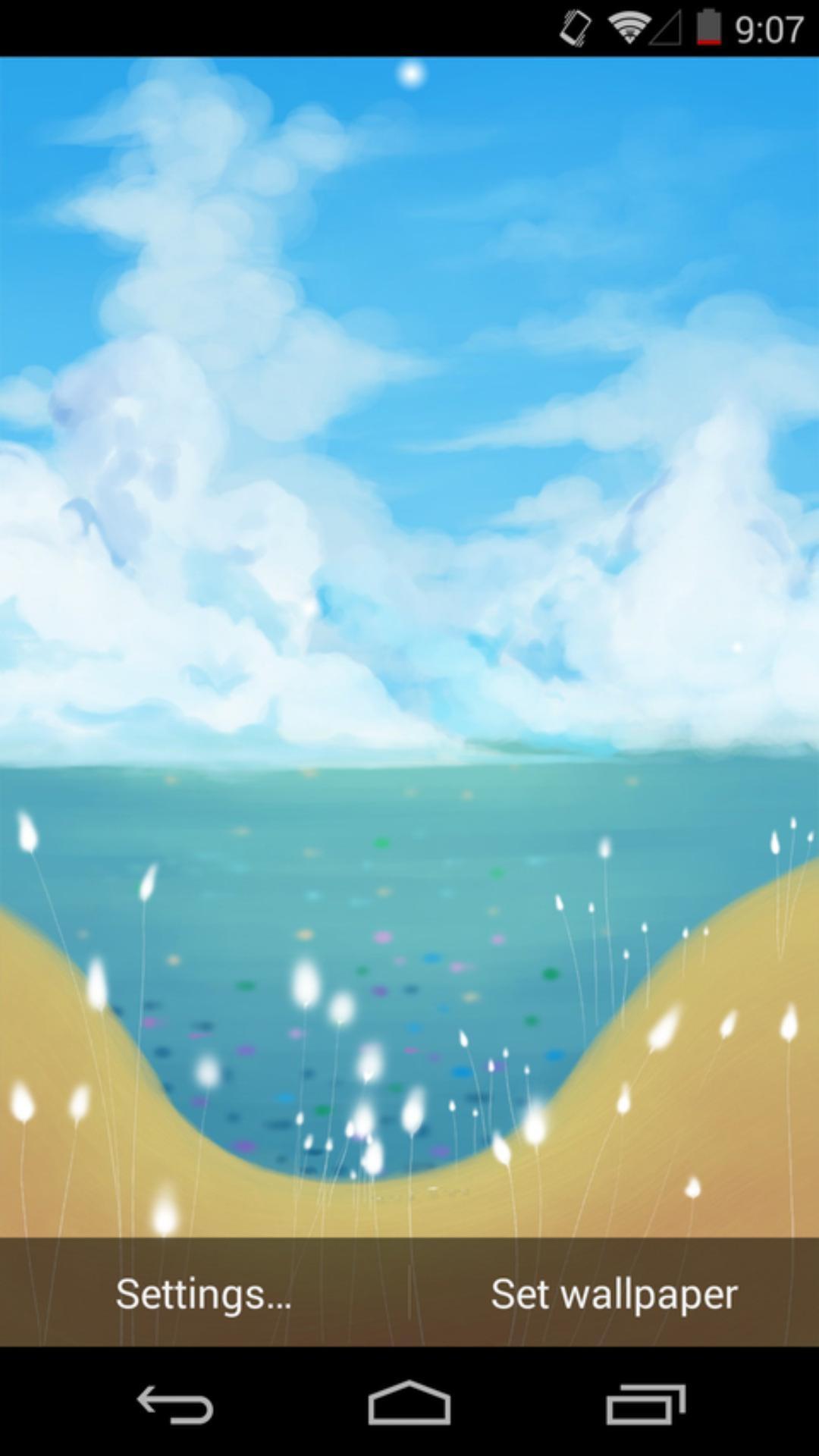 云淡风轻-梦象动态壁纸
