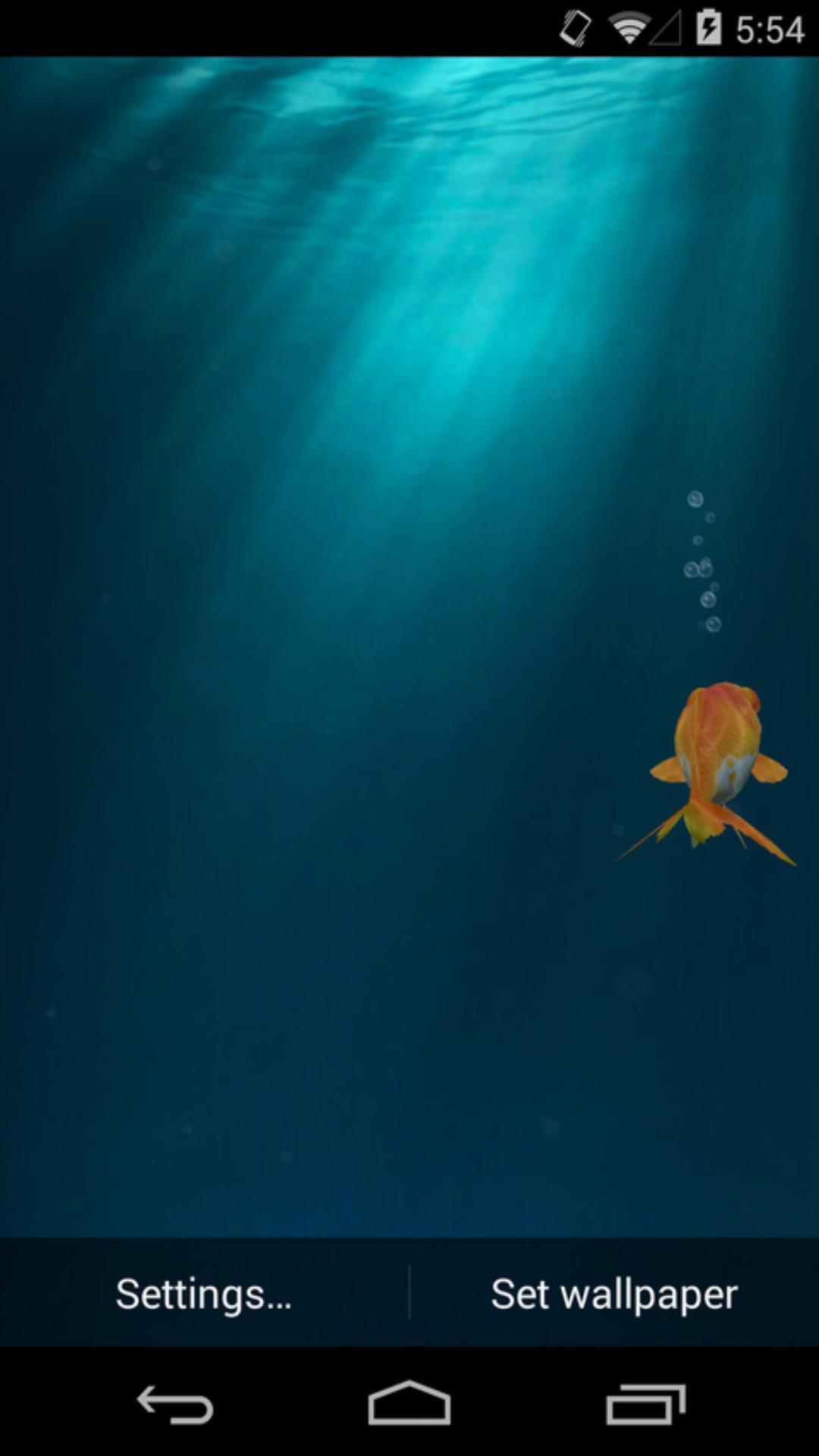 3D金鱼 梦象动态壁纸下载 3D金鱼 梦象动态壁纸安装 3D金鱼 梦象动态