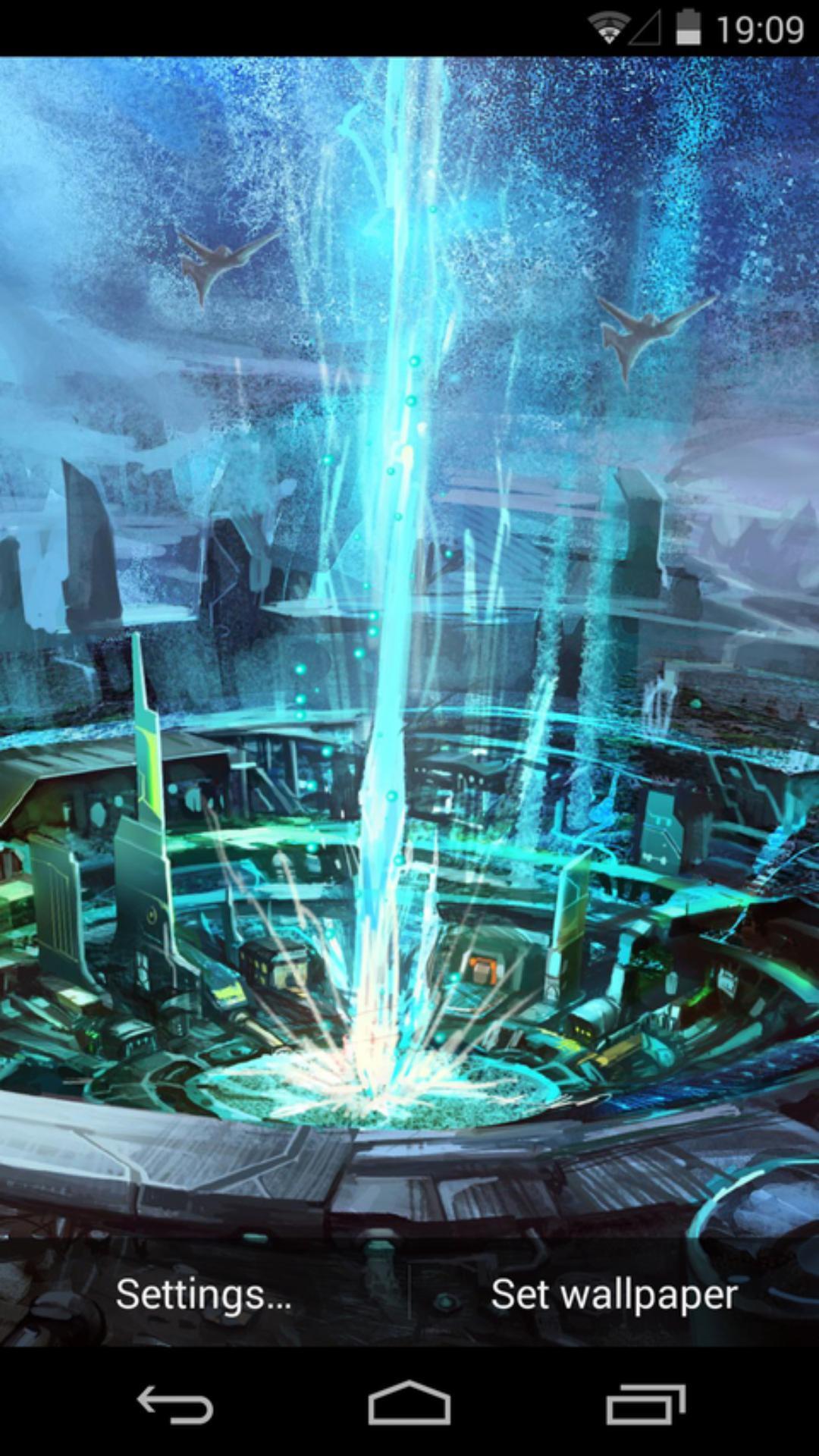 未來世界-夢象動態壁紙圖片