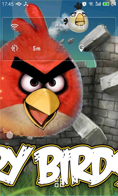 愤怒的小鸟-秀壁纸锁屏