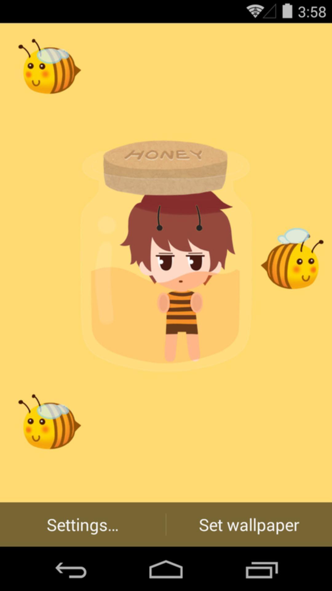 伟大的安妮-蜂蜜-梦象动态壁纸