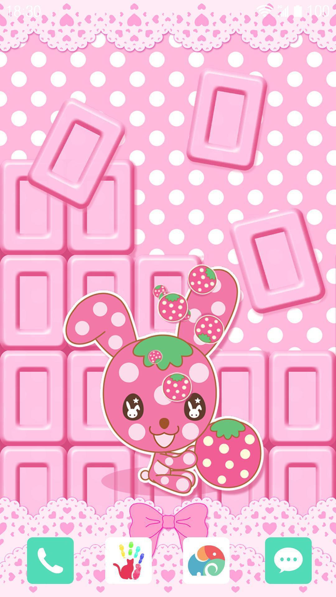 草莓-巧克力-梦象动态壁纸