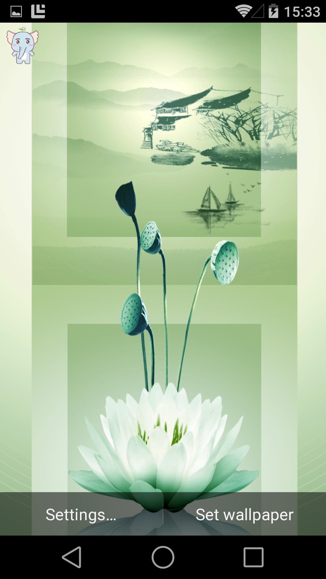 青莲-梦象动态壁纸