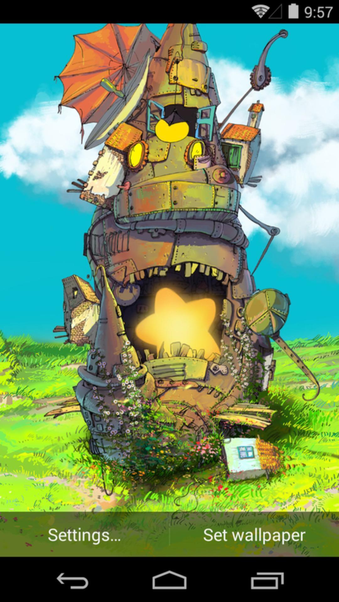 安戈力的草原-梦象动态壁纸