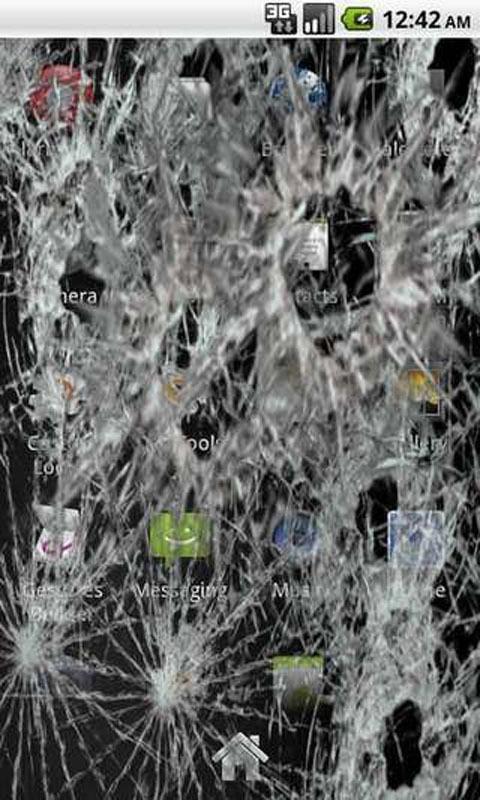 手机屏幕恶搞