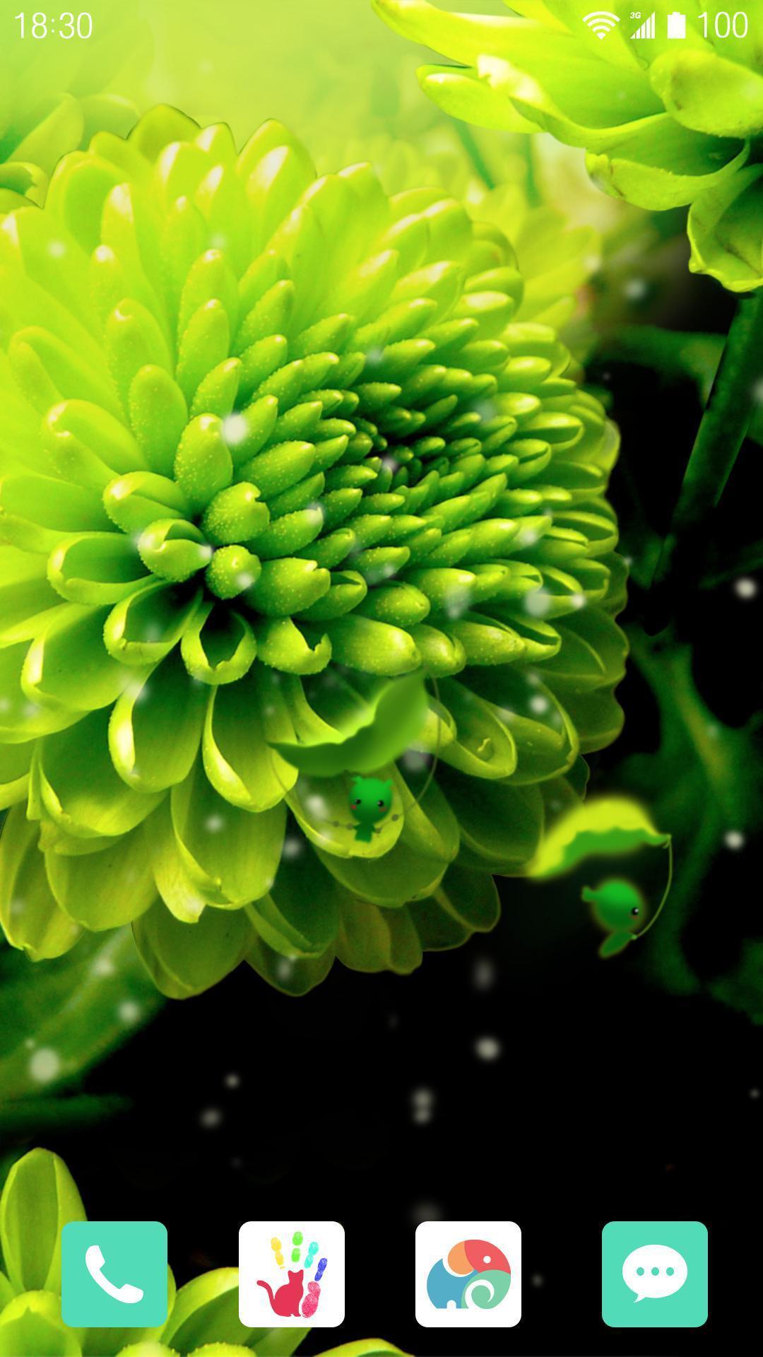 绿意柔情-梦象动态壁纸