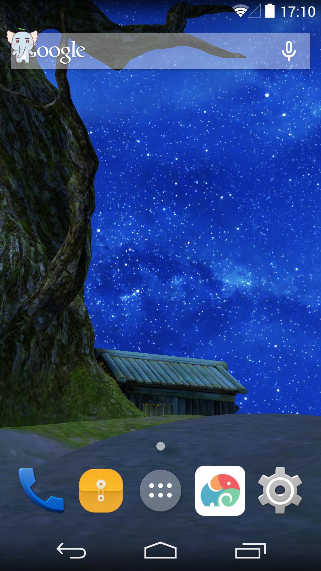 3D与星星作伴-梦象动态壁纸