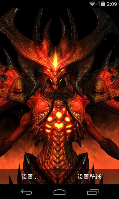 3D暗黑破坏神-梦象动态壁纸