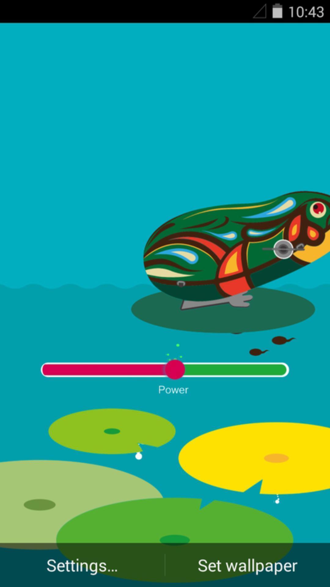 铁皮青蛙-梦象动态壁纸