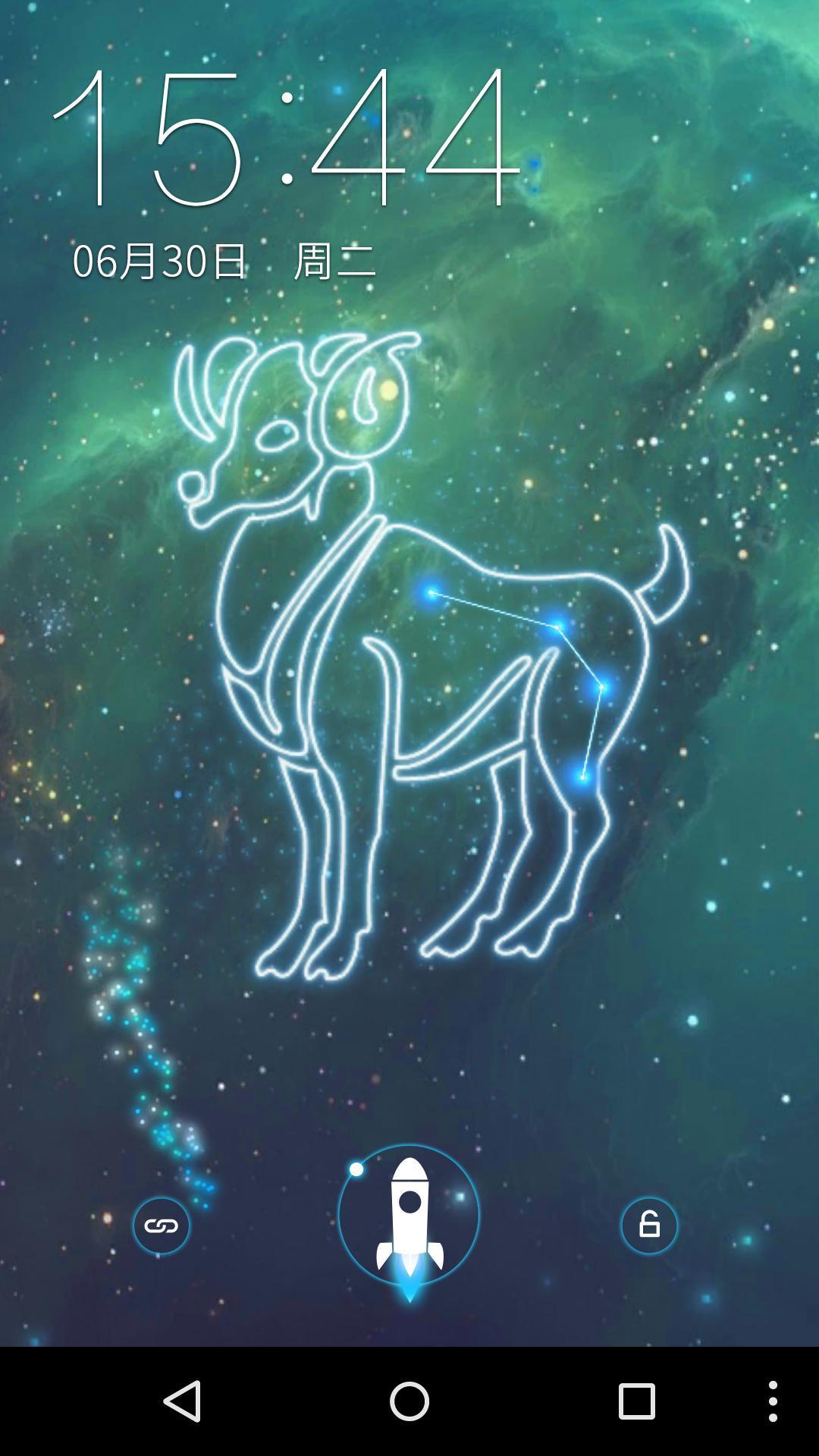 白羊座-梦象动态壁纸