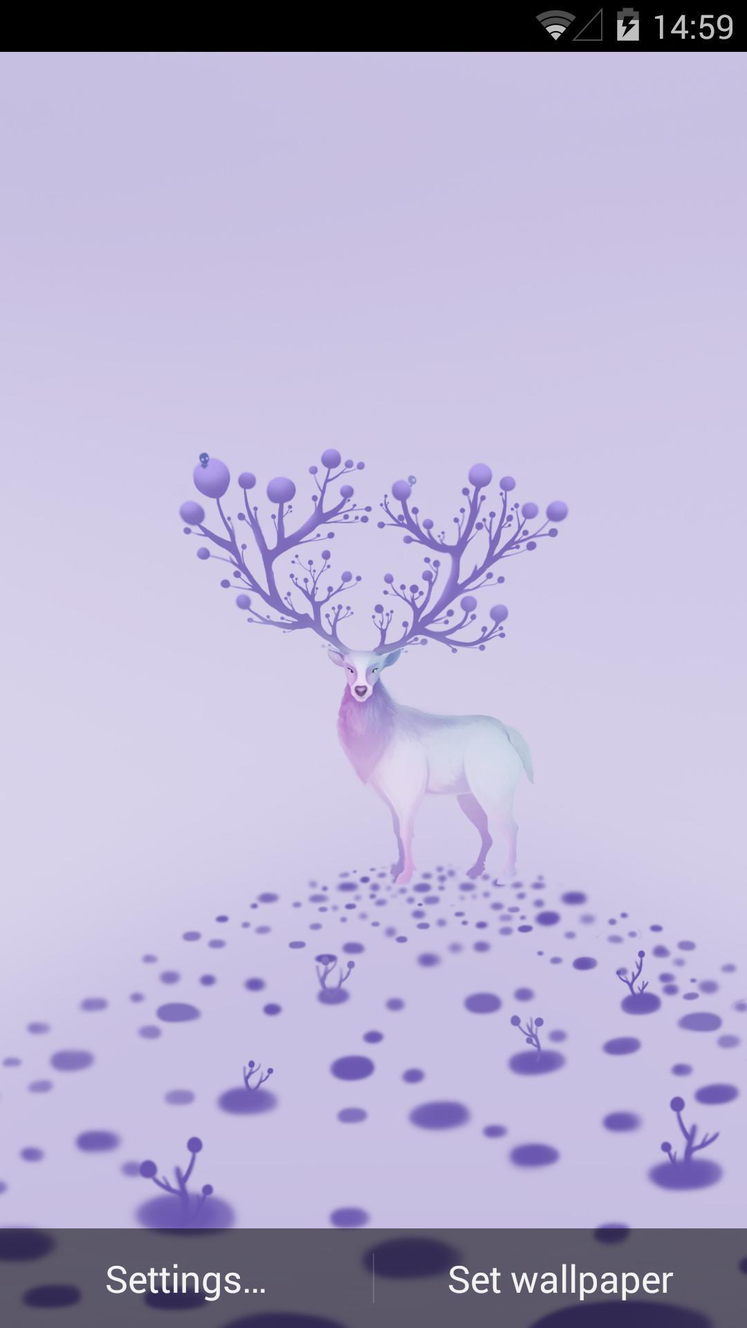 麋鹿-梦象动态壁纸